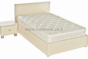 מיטה חלום וחצי עם ארגז מצעים - דגם שמפניה פלוס