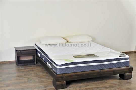 מיטה חלום וחצי מעץ מלא - דגם סקויה