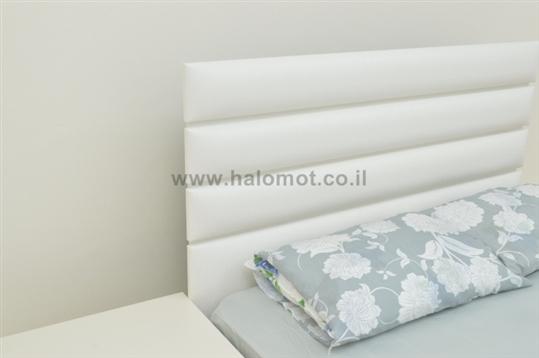 ראש מיטה מרופד - דגם אופק