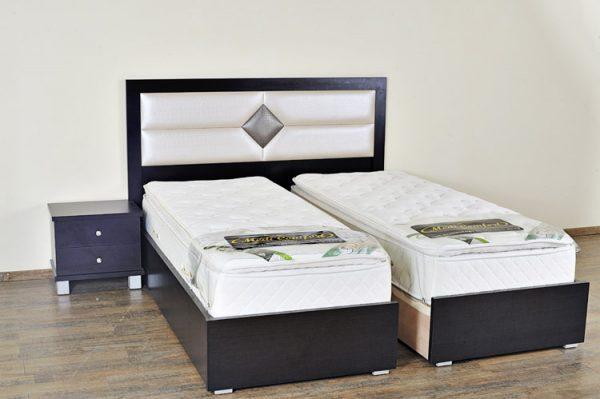 ניס מיטה יהודית עם ראש מיטה וכן ארגז מצעים - דגם ספיר יהלום | חלומות OF-59