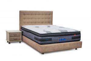 מיטה זוגית עם ארגז דגם טופז