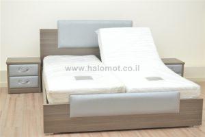 מיטה מתכווננת דגם נועם