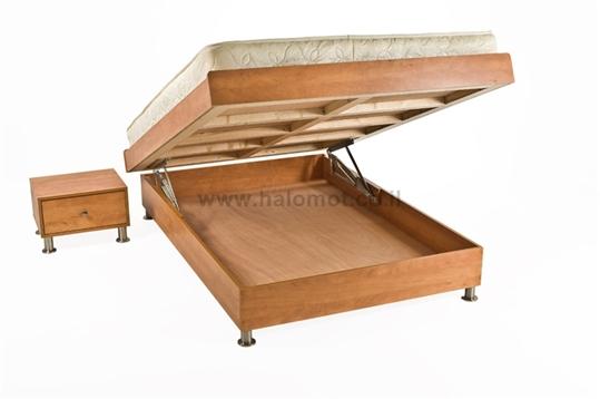 מיטה זוגית עם ארגז ניר פלוס