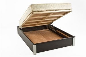 מיטה זוגית עם ארגז מצעים - דגם מיקס