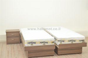 מיטה יהודית טוקיו ארגז מצעים מלמין