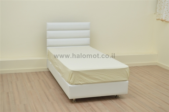 מיטת ילדים מרופדת ארגז מצעים דגם אופק