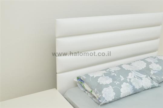 מיטה זוגית עם ארגז דגם אופק