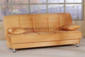 ספה נפתחת תלת מושבית עם ארגז מצעים גדול