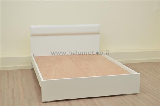 מיטה זוגית עם ארגז מצעים דגם ימית
