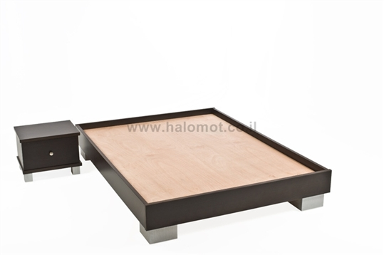 מיטה זוגית במבצע - דגם שוקולד
