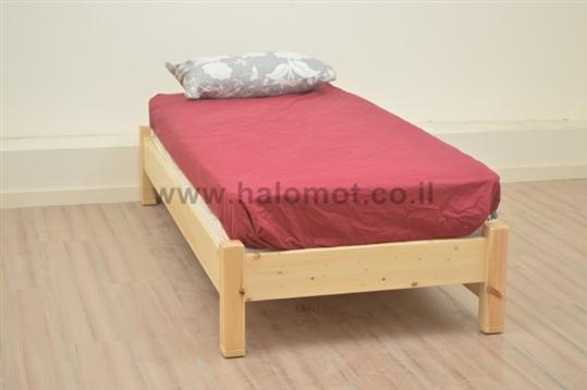מיטת ילדים מעץ אורן דגם מאור
