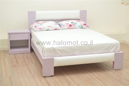 מיטה דגם יסמין מרופד 2
