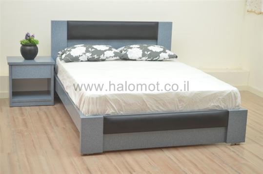 מיטה עם ארגז מצעים דגם רקפת כרית 2