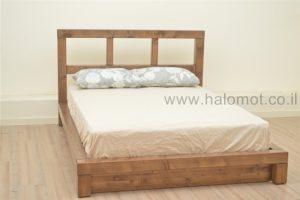 מיטה זוגית עם ארגז מצעים אלמוג פלוס