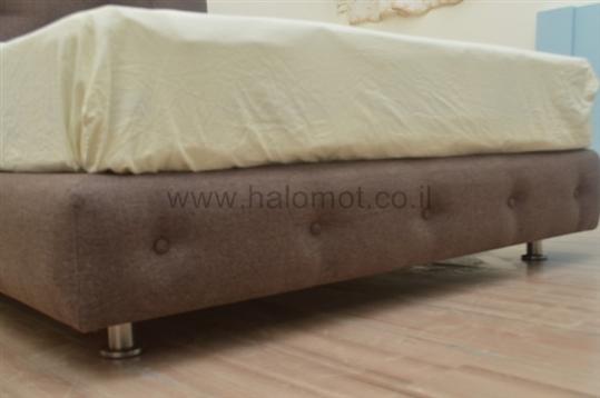 מיטה זוגית מרופדת דגם קינג סליפ