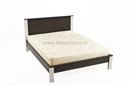 מיטה זוגית עם ראש מיטה דגם מיקס פלוס