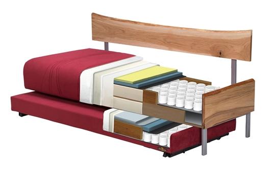 מיטה חלום וחצי דגם קווים