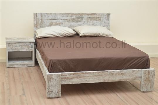 מיטה זוגית דגם וינטג פלוס