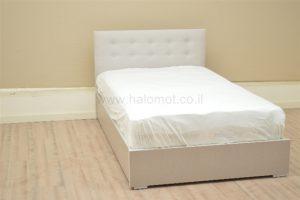 מיטה זוגית עם ארגז מצעים דגם קראנץ