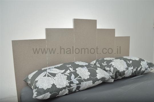 מיטה זוגית עם ארגז מצעים דגם קיסריה