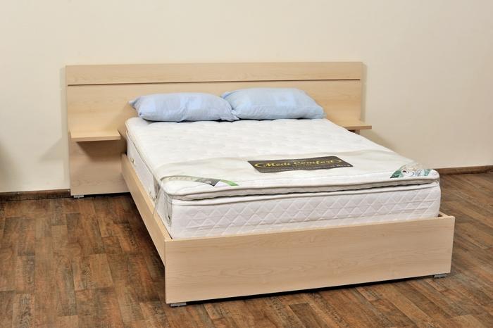 מיטה זוגית - עיצוב חדר שינה מודרני