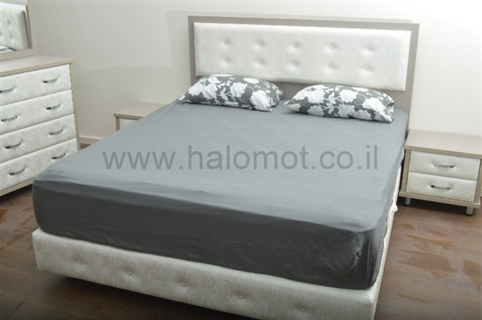 מיטה זוגית עם ארגז מצעים דגם ארט