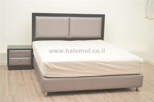 מיטה זוגית עם ארגז מצעים דגם קורל
