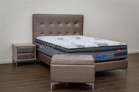 מיטה זוגית מרופדת דגם שוהם