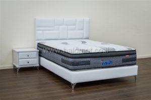 מיטה זוגית מרופדת דגם פנינה