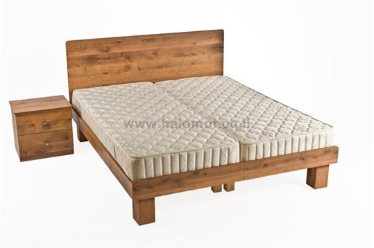 מיטה יהודית עם ראש מיטה - דגם עדן פלוס