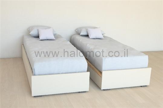 מיטה יהודית עם ארגזי מצעים דגם ספיר - 2500 ₪