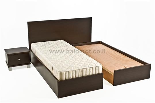 מיטה יהודית עם ארגזים דגם ספיר פלוס