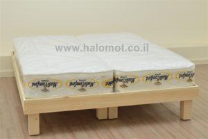 מיטה יהודית מעץ מלא דגם כפיר
