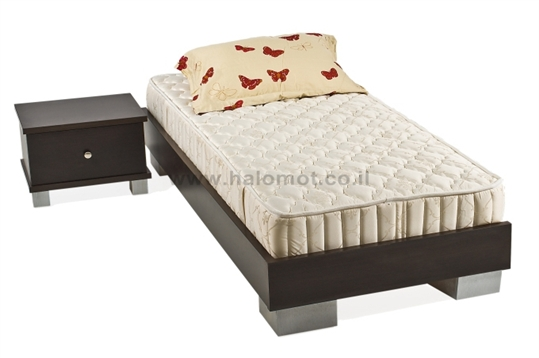 מיטה נוער - דגם שוקולד