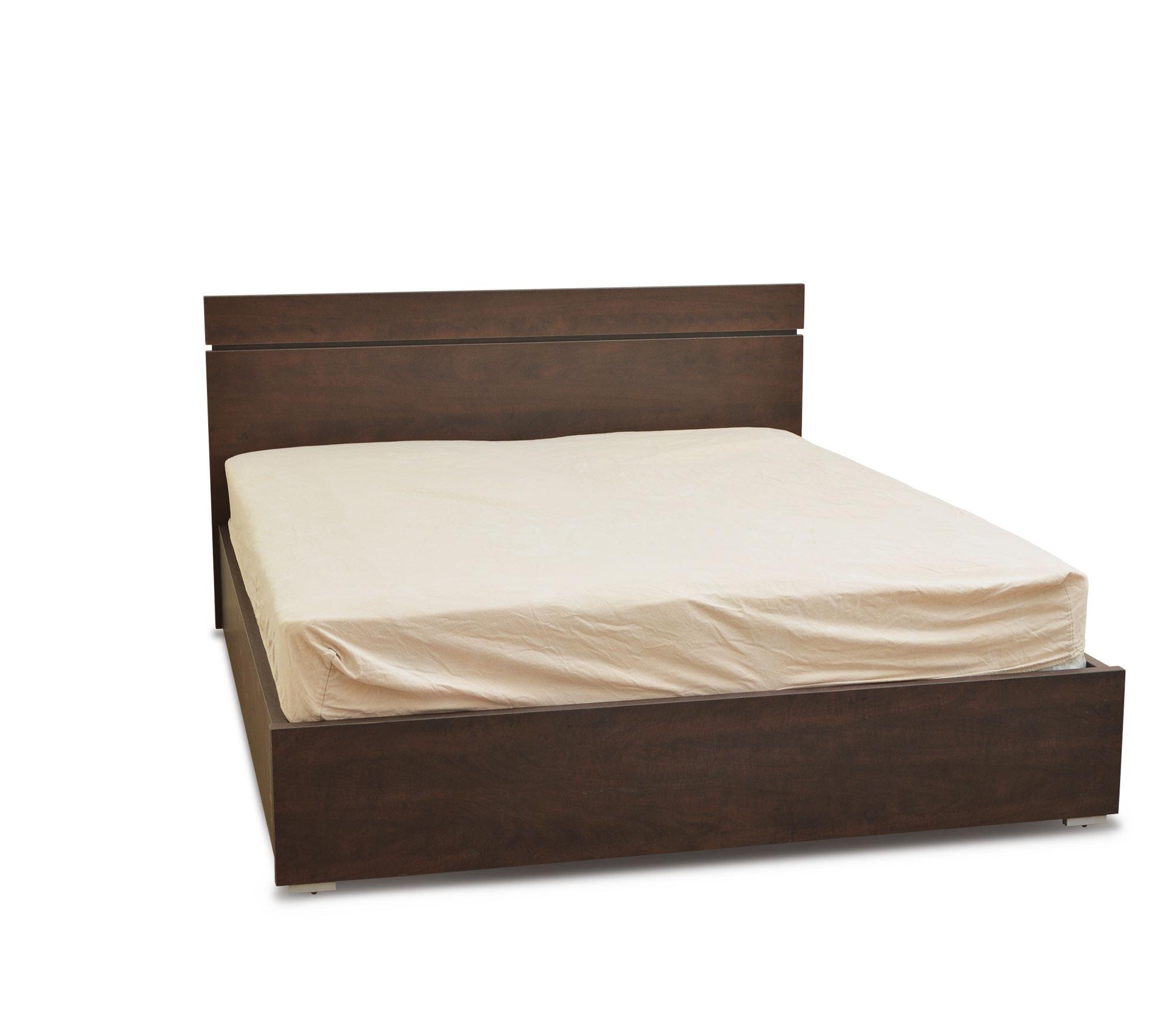מיטה זוגית עם ארגז מצעים דגם סנדי
