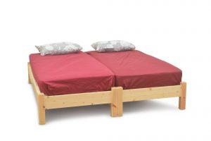 מיטה יהודית מעץ מלא דגם מאור