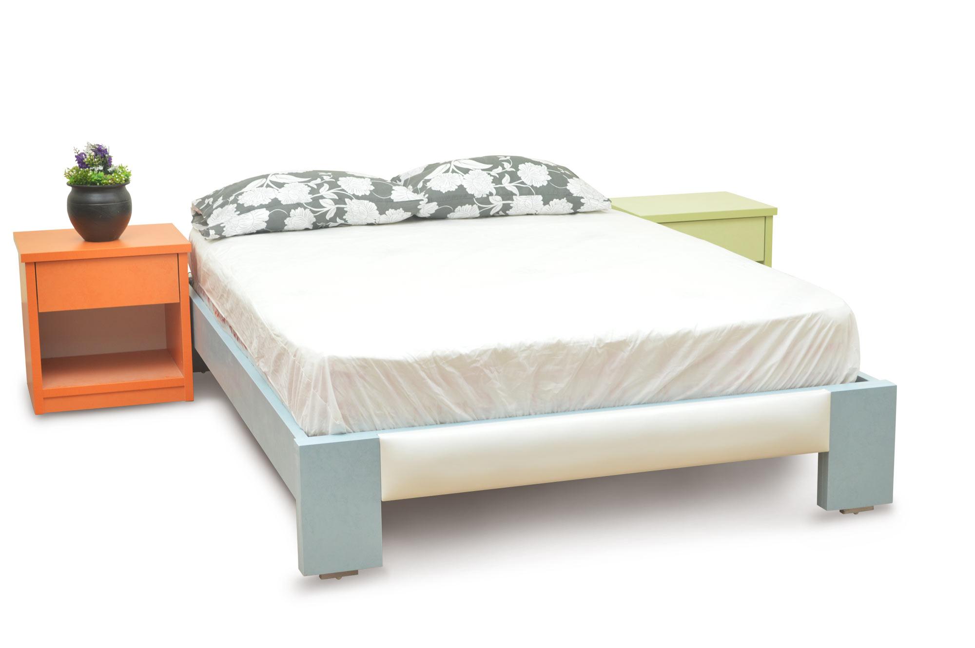 מיטה דגם סחלב מרופד