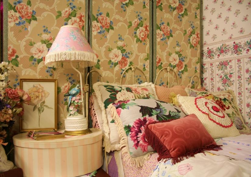 חדר שינה בסגנון רטרו