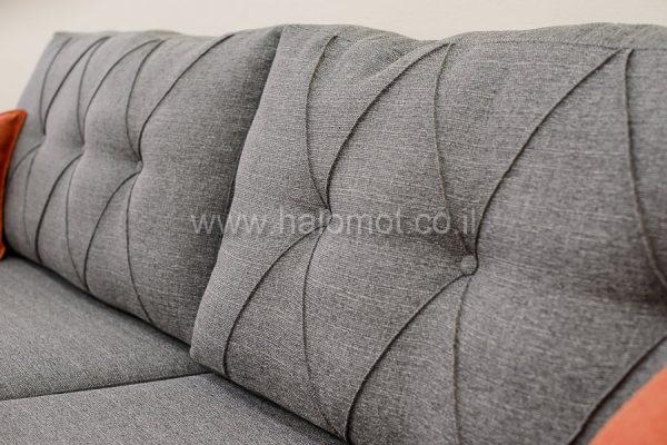 ספה תלת מושבית לסלון דגם מעויינים - טיוטה