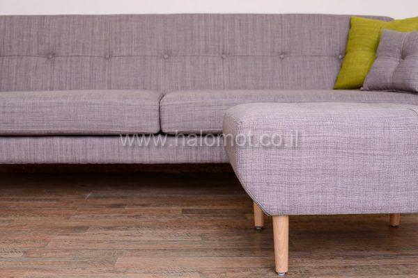 ספה תלת מושבית לסלון דגם שקד