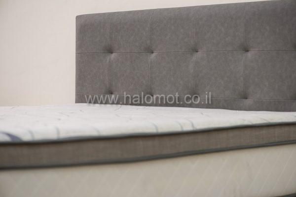 מיטה זוגית מרופדת דגם אלון 2
