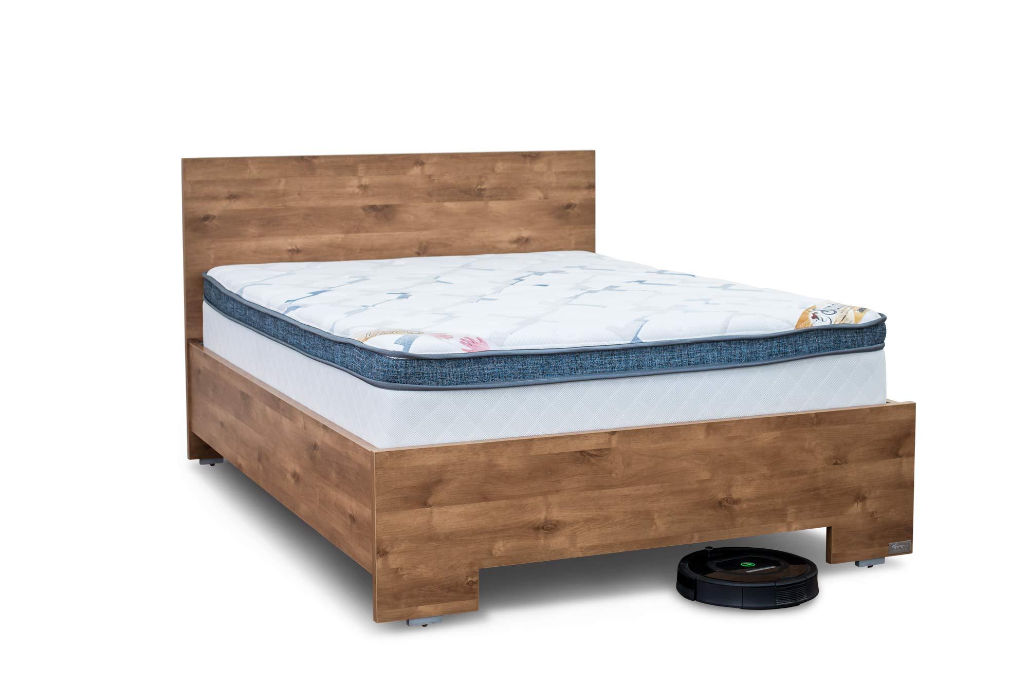 מיטה עם ארגז מוגבה לנקיון - ארגז הפלא