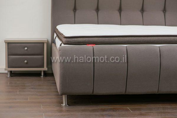 מיטה זוגית מרופדת דגם ליאן