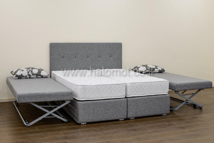 מיטה יהודית מרופדת עם זוג מיטות היי רייז - 8000 ₪