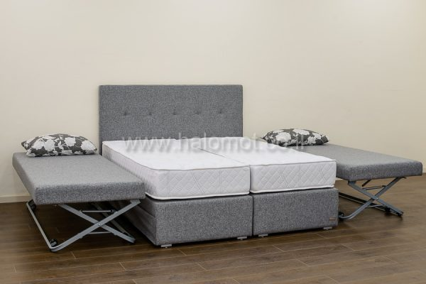 מיטה יהודית מעוצבת זוג מיטות היי רייז