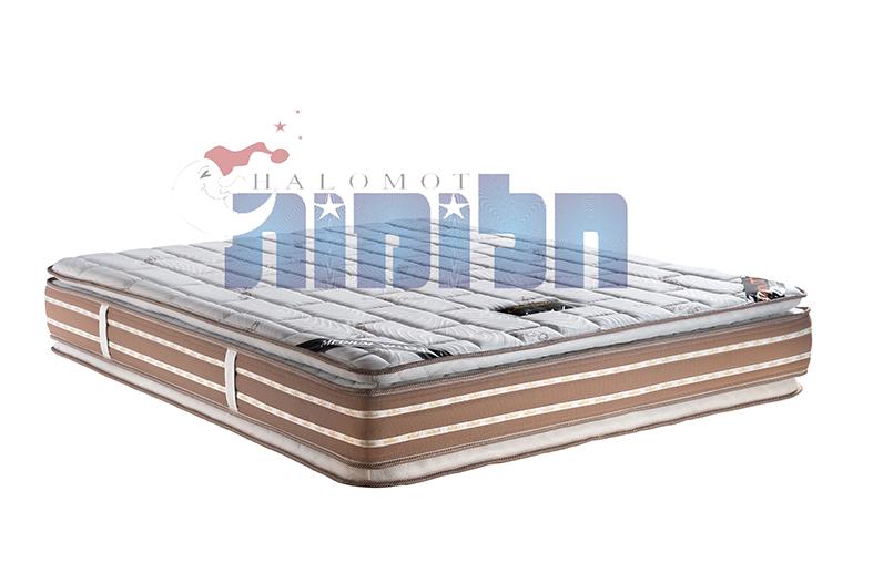 מזרן אורטופדי זוגי - melody pillow top