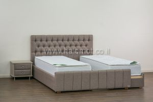 מיטה יהודית עם ארגז מצעים חזית אחידה דגם מוריה