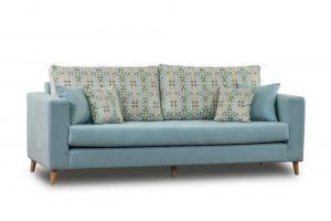 ספה תלת מושבית לסלון דגם פריז