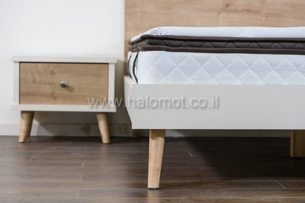 שידה לחדר שינה עם מגירה - דגם רותם