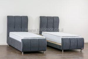 מיטה יהודית מרופדת דגם ליאן ראש מופרד